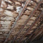 Das Dach musste komplett erneuert werden.