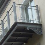 Montage der neuen Balkone
